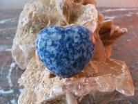 Sodaliet Hart (BOL) edelsteen nr.1  4 x 5 cm
