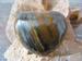 Tijgeroog Hart (Bol) edelsteen E013 4 x 4.5 cm