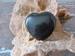 Onyx Hart (Plat) edelsteen E0109 4 x 4 cm