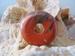 Jaspis Rood Donut edelsteen E0122